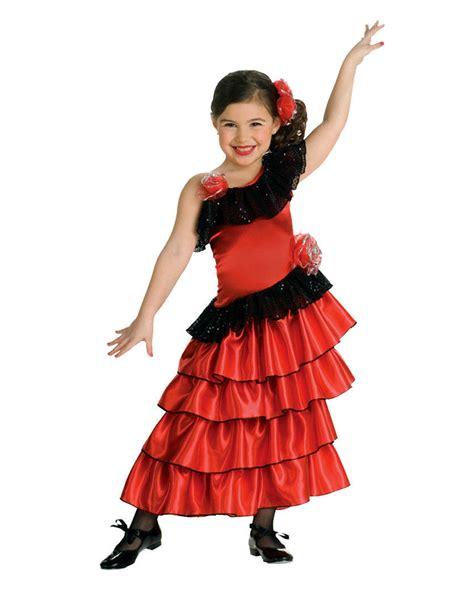 spaniard kids costume  senorita costume  girls