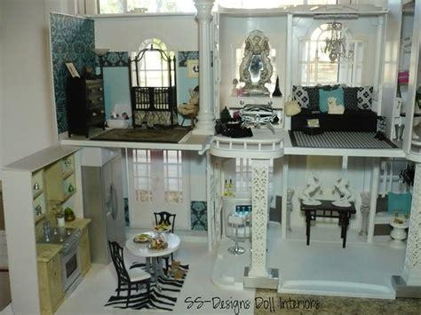 dollhouse barbie doll inside dolls amazing interiors ooak houses designs transformation ever ss project furniture custom left interior modern seen
