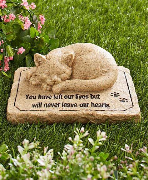 pet memorial garden stones new pet memorial garden cemetary grave marker cat statue