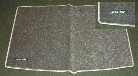 Peugeot 206 Metallic Carpet Mat [sw] Sports Wagon Genuine