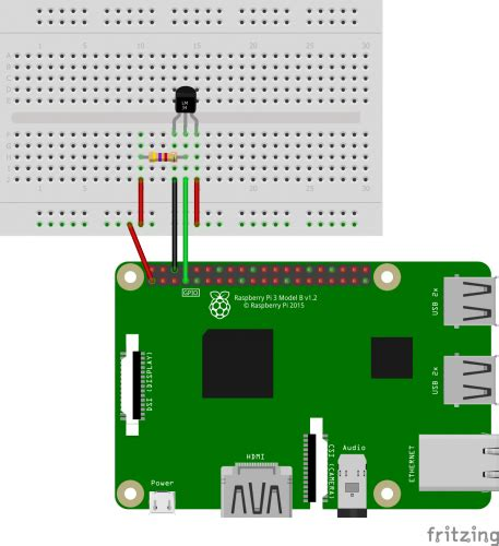 measuring temperature with a raspberry pi temperature sensor 1 wire