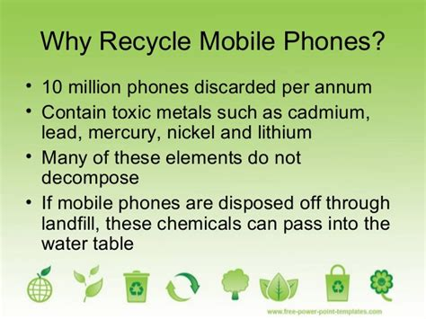 recycle phones for recycling mobile phones