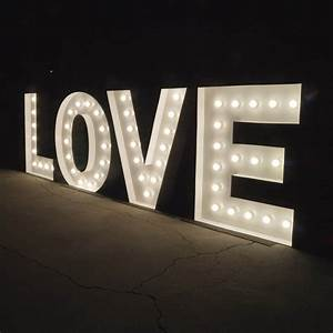 light up letters stunning 12m illuminated marquee love With light up letters