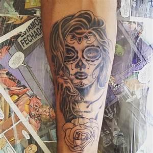 Tete De Mort Mexicaine Femme : tous savoir sur le tatouage mexicain ~ Melissatoandfro.com Idées de Décoration