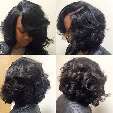 2239 best images about Celebrity sew in hairstyles (black
