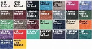 Bella T Shirt Color Chart In Case Of Emergency Press T Shirt Canvas 3413