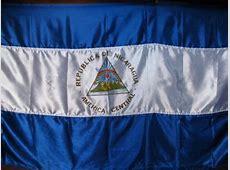 Nicaraguan flag Photo