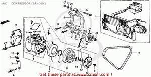 Honda Civic A C Compressor Wiring