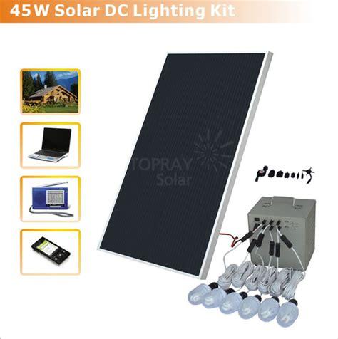solar lighting kit 45w solar power kit china solar