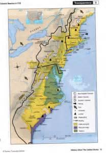 13 Colonies Map Economy