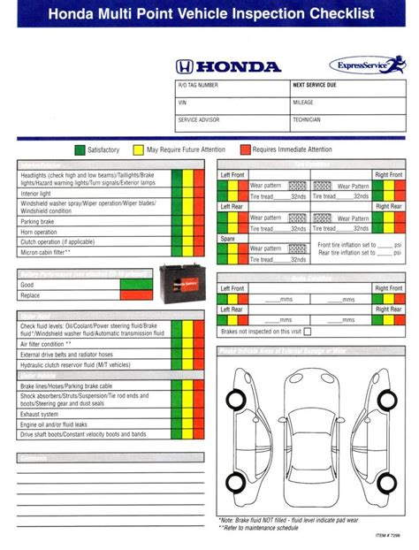 bureau inspection automobile are vehicle inspection forms available