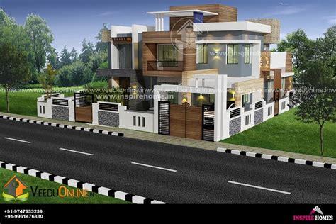 square feet luxury modern style home design