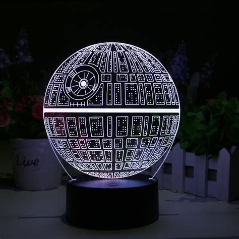 Wholesale Star Wars Death Star 3d Led L From China