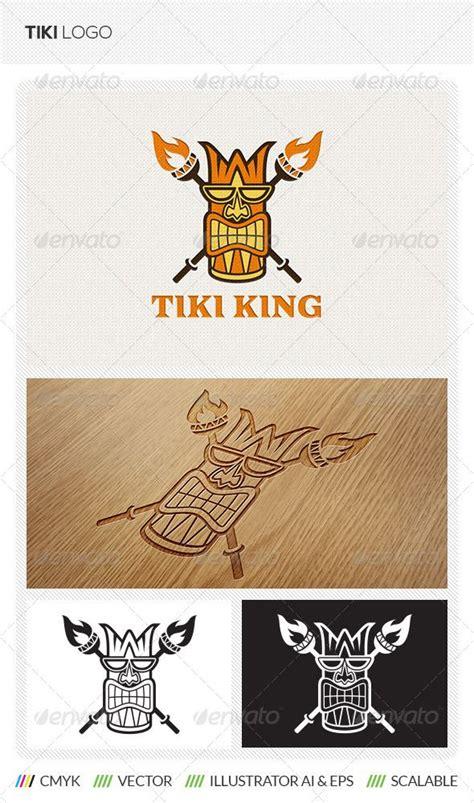 Tiki Totem Templates by Tiki King Logo Template Graphicriver Tiki Totem Logo