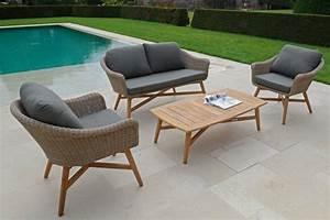 Coussin Fauteuil De Jardin : coussin pour fauteuil de jardin en teck wasuk ~ Dailycaller-alerts.com Idées de Décoration