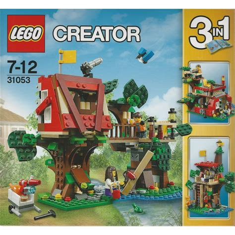 Lego creator 3in1 deep sea creatures 31088 make a shark, squid, angler fish, and crab with this sea animal toy building kit (230 pieces). LEGO CREATOR 31053 AVVENTURE SULLA CASA SULL'ALBERO 3 IN 1 ...