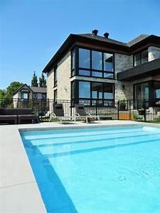 le confort d une piscine couverte le charme d un ruisseau With prix d une piscine creusee couverte