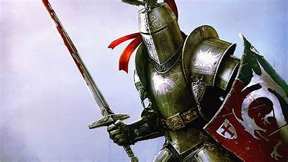 Knight Fantasy Backgrounds Wallpapers Medieval Vult Deus