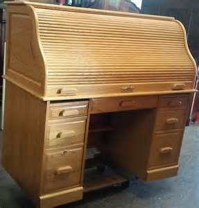 uhuru furniture collectibles sold reduced quot winners only quot oak roll top computer desk 60