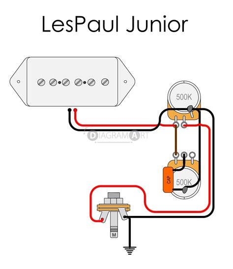 Le Paul Electric Guitar Wiring Schematic by Lp Junior Wiring Question Talkbass