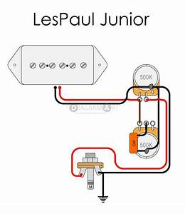Lp Junior Wiring Question