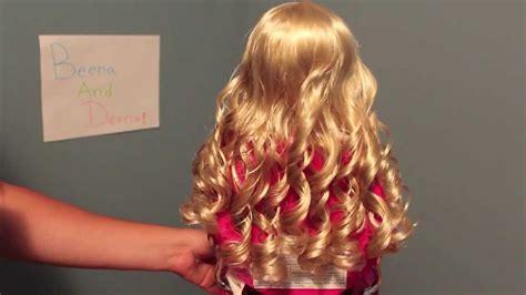 curl  american girl dolls hairs  curly hair