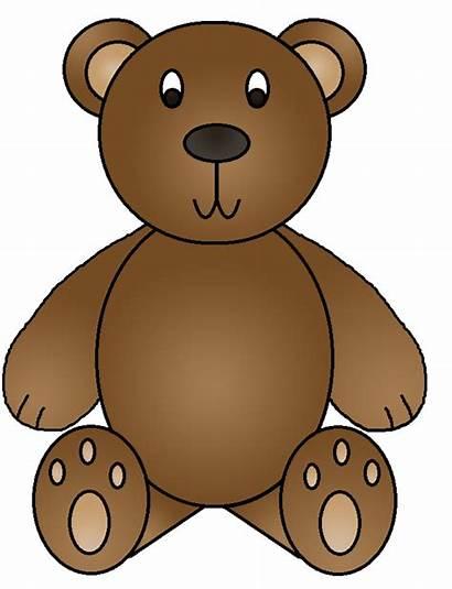 Bear Clipart Bears Hunt Brown Birthday Graphics