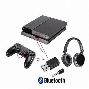 Transmissor Bluetooth Para Ps4 Pc Use Headset Sem Fio