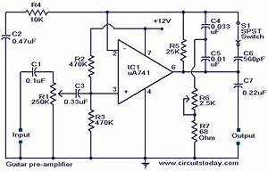 Circuit Diagrams Guitar Effects Photos