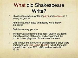 Shakespeare as a sonnet writer