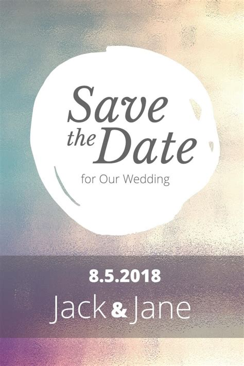 Publisher Save The Date Templates by Save The Date Postcard Templates Exles Lucidpress