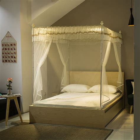 canopy bed for adults online buy wholesale square mosquito net from china square mosquito net wholesalers aliexpress com