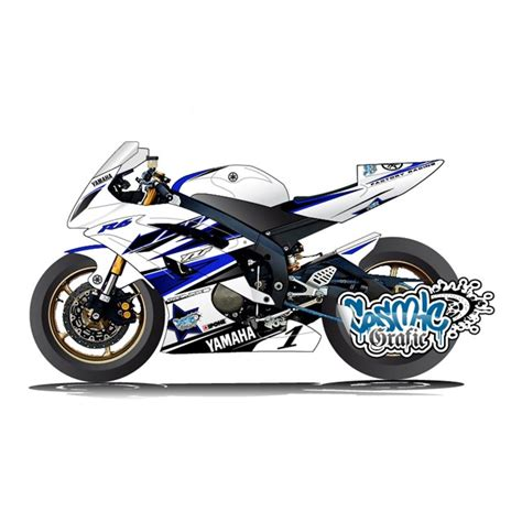 custom made to order graphic kit for 2006 2014 yamaha r6