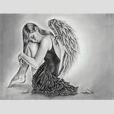 Fallen Angel Drawings | 600 x 453 jpeg 69kB