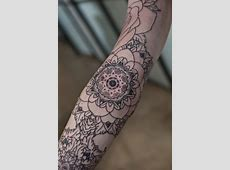 And Black White Sleeve Tattoos Floral 3