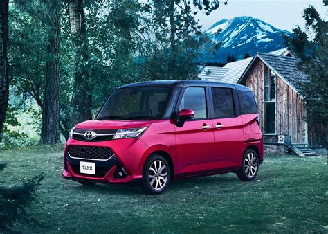 Toyota Roomy And Tank Minivans Launch In Japan Carscoops