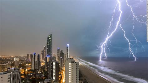 weather extreme cnn australia natureza focus storm dramatic december lightning views building
