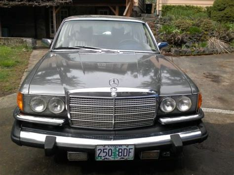 Sell Used Exceptional Condition 1979 Mercedes Benz 450 Sel