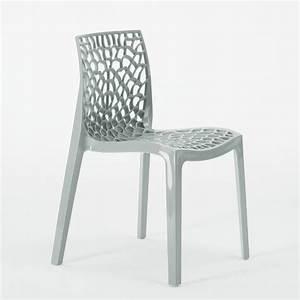 Chaise Grand Soleil : chaise plastique cuisine bar polypropylene empilable italie gruvyer grand soleil ebay ~ Teatrodelosmanantiales.com Idées de Décoration
