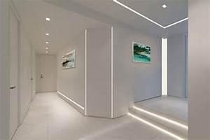 Luminaire D Angle : profile led encastre murs angles interieurs exterieurs plafond luminaires exterieur maison ~ Melissatoandfro.com Idées de Décoration