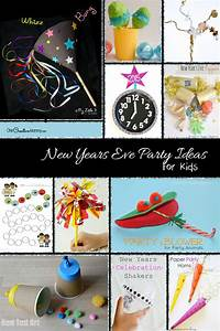 New Years Eve Party Ideas for Kids - onecreativemommy.com