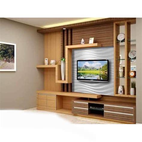 brown designer tv unit rs  set ronak modular
