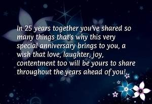 25 year work anniversary quotes quotesgram With 25 year wedding anniversary