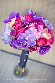 Light Pink Purple Wedding Bouquets