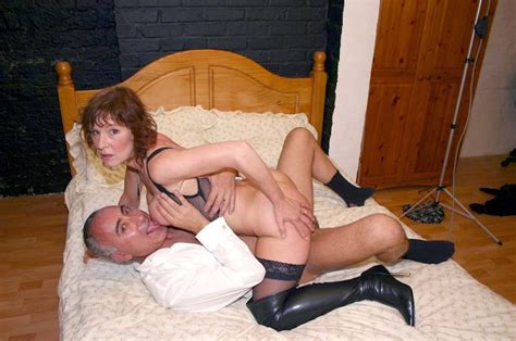 Old British Whore Shagged By This Horny Senior Office