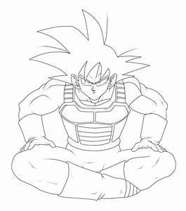 Goku Ssj2 Coloring Pages Coloring Pages