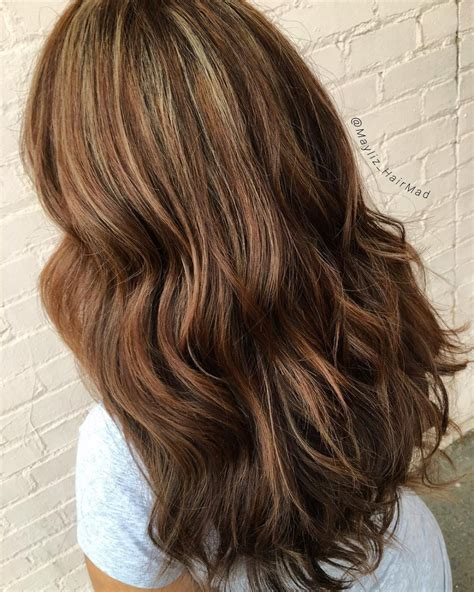 Hairstyles With Highlights by 27 Most Delectable Caramel Highlights You Ll See In 2018