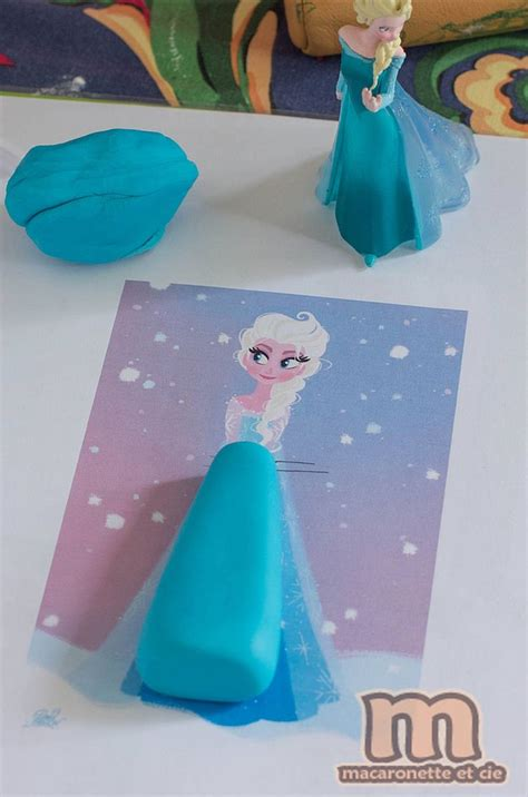 template pour r 233 aliser la reine des neiges en p 226 te 224 sucre