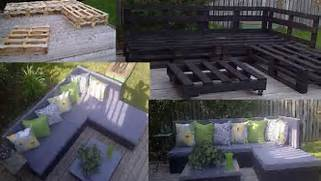 LPT Turn A Few Wooden Pallets Into Patio Furniture Reddit Pallet Sitting Furniture Was Done We Moved On To Make The Pallet Table Recycled Pallet Outdoor Furniture 10 Simple DIY Pallet Bench Designs Wooden Pallet Furniture
