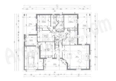 plan maison 2 chambres plan maison plain pied 2 chambres maison moderne